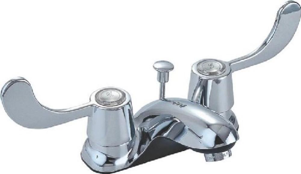 ADA Chrome Lavatory Faucet / Drain Set