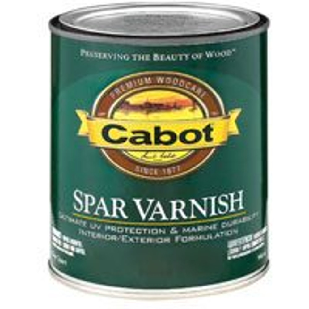Spar Varnish, Gloss, Quart