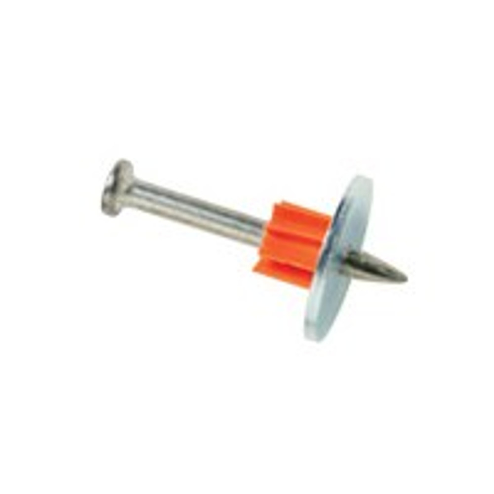 "Ramset, 3"" Drive Pin, With Washer, 100 Pack"