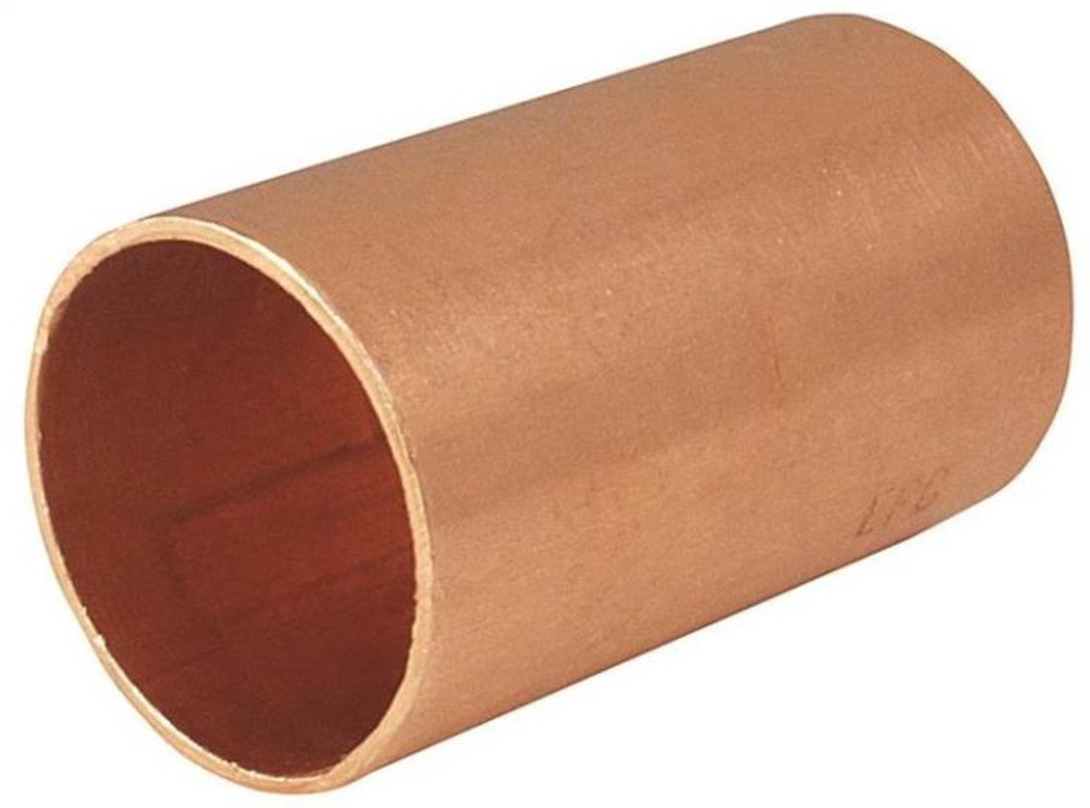 "Copper Fitting, 1/2"", CXC, Coupling"