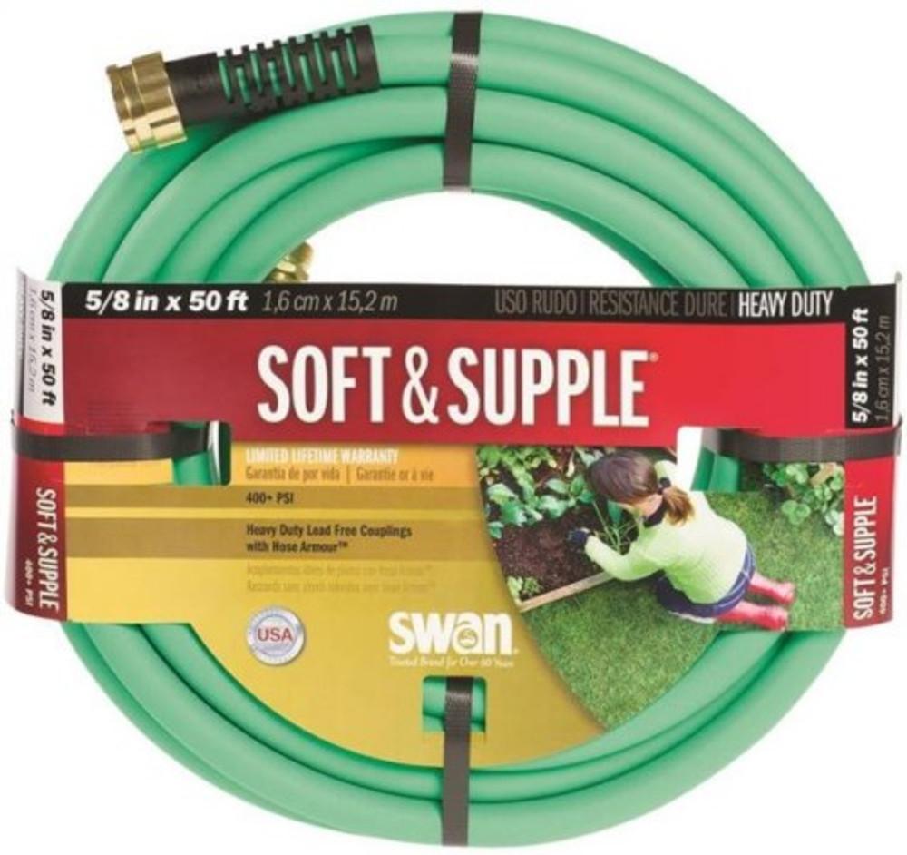 """Garden Hose, 5/8"""" x  50', Soft & Supple"""