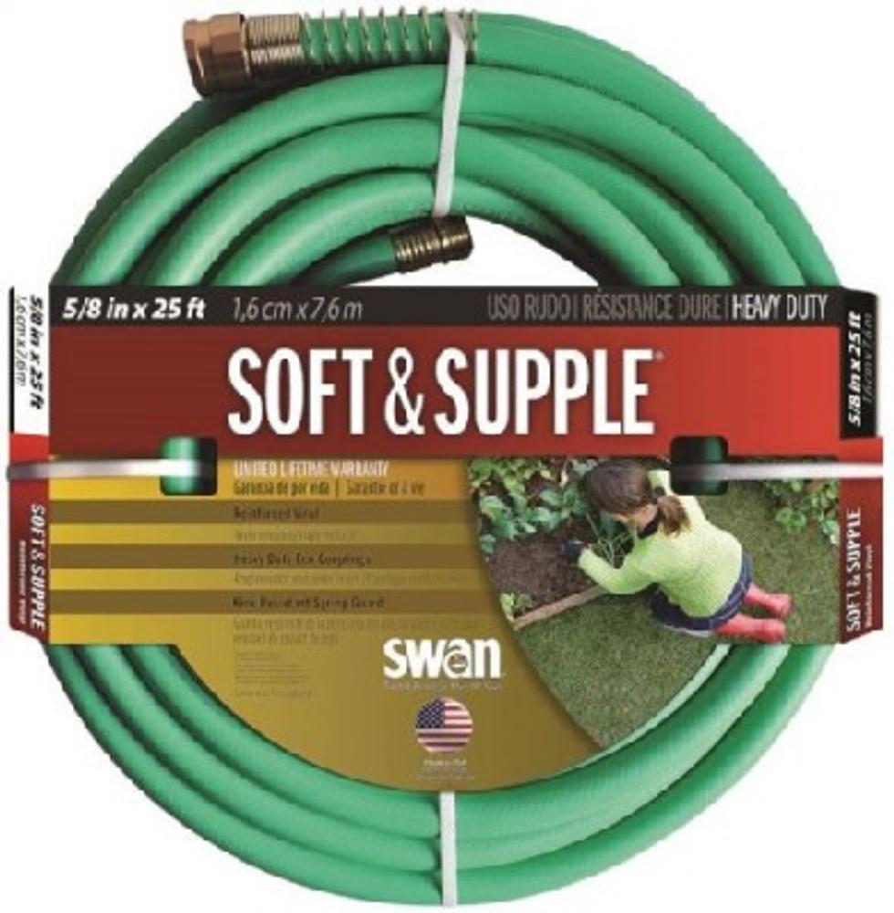 """Garden Hose, 5/8"""" x  25', Soft & Supple"""