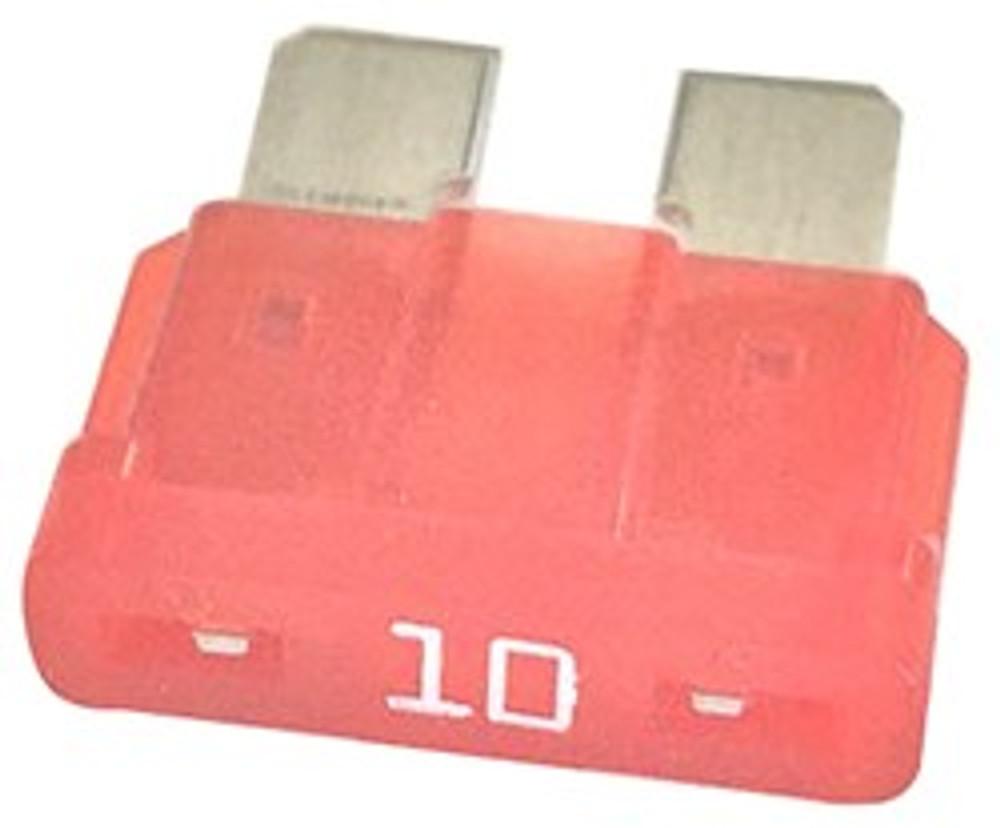 ATC 10, Auto Fuse, 10 Amp, Red