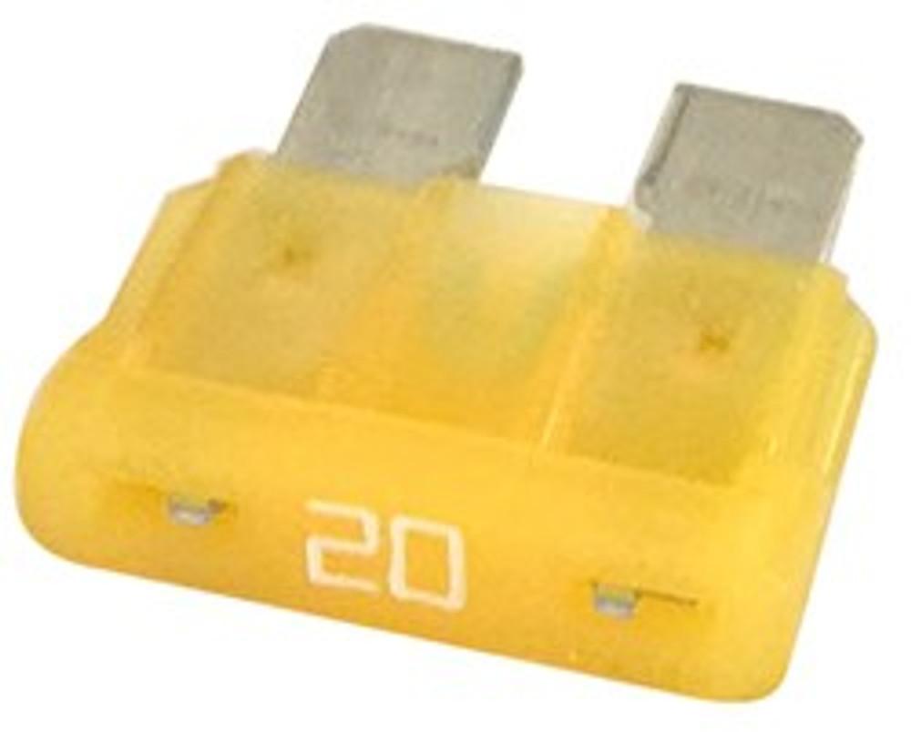 ATC 20, Auto Fuse, 20 Amp, Yellow