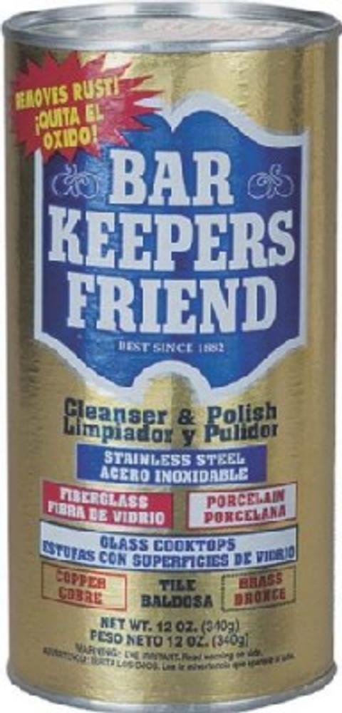 Bar Keepers Friend Model 11510, Cleaner & Polish, 12 Oz
