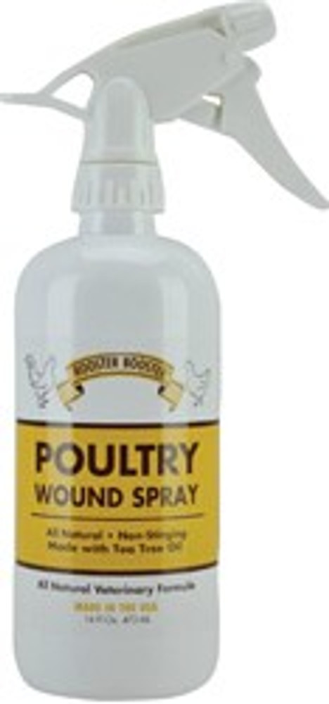 Rooster Booster, Poultry Wound Spray 16 Oz