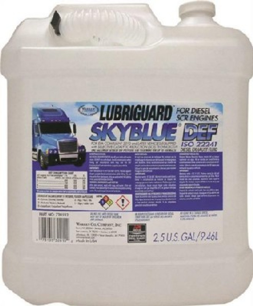 Lubriguard, Skyblue, Diesel Fuel Aditive, 2.5 Gallon