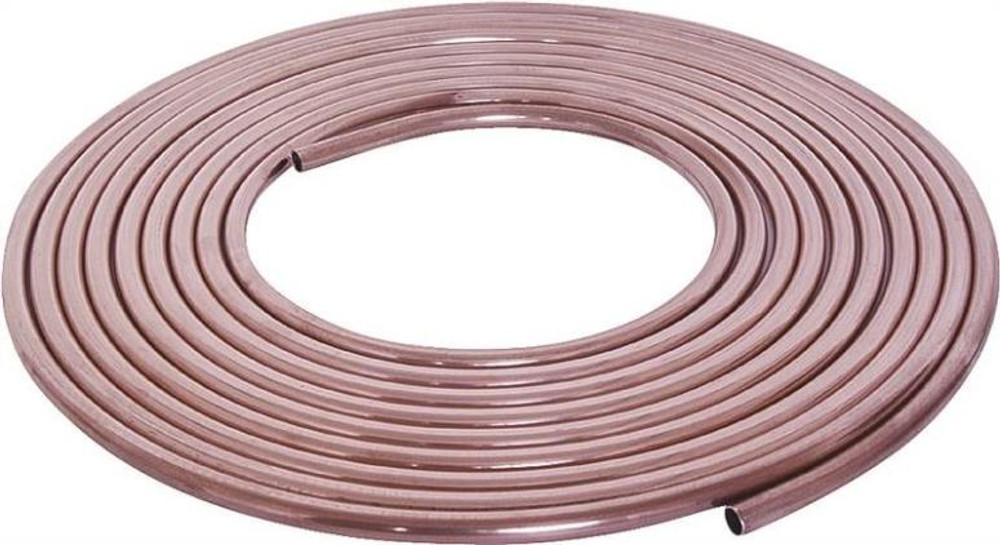 "Copper Tubing, 1/2"" x 20', Soft"