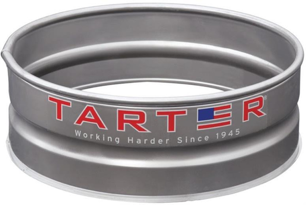 """Camp Fire Portable Ring, 36"""" x 12"""", Galvanized Steel"""