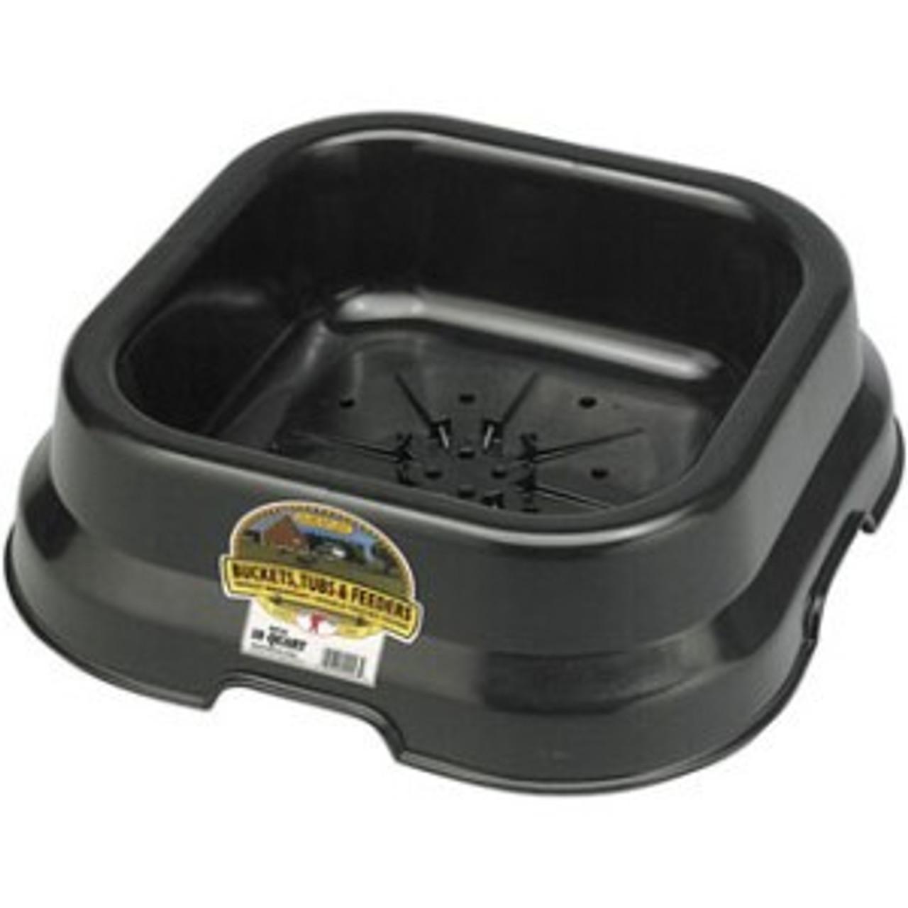 Fortiflex Salt Block Pan Black