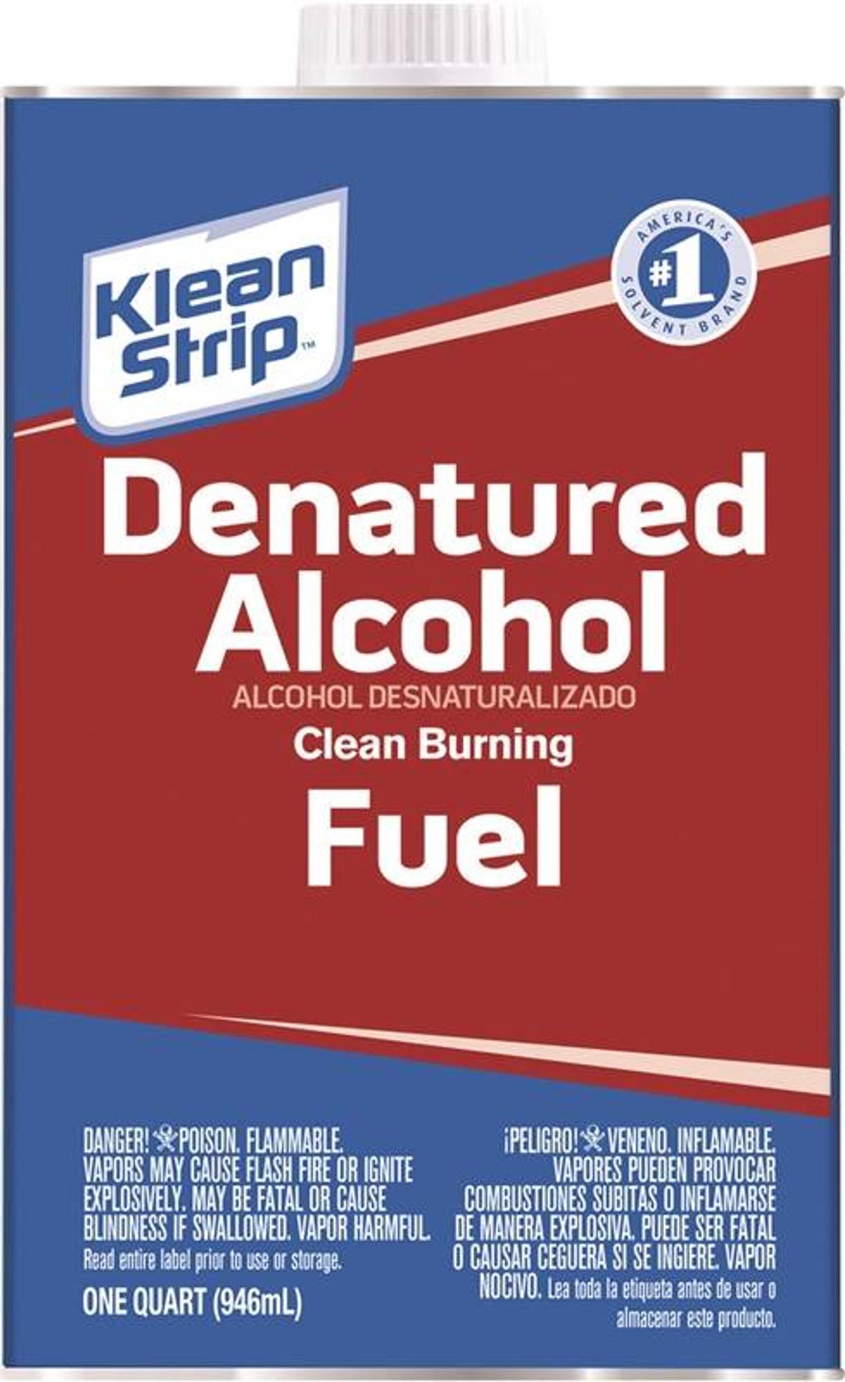 Denatured Alcohol, 1 Quart