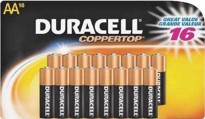 """Duracell, Alkaline Batttery, 1.5 Volt, """"AA"""", 16 Pack"""