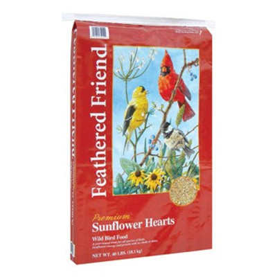 Feathered Friend, Sunflower Hearts, 40 Lb