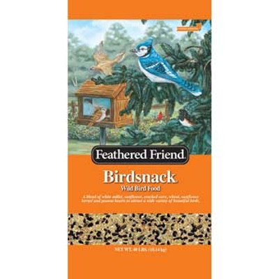 Feathered Friend, Birdsnack Wild Bird Food 40 Lb