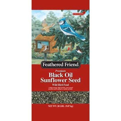 Feathered Friend, Black Oil Sunflower Seed 20 Lb