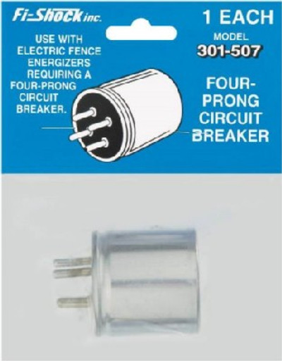 Electric Fence 4 Prong Circuit Breaker