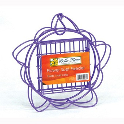 Hiatt Model 60260, Flower Suet Feeder, Purple