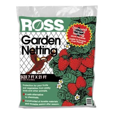 "Garden Netting 72"" x 21' Plastic"