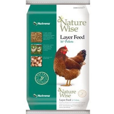 Nature Wise Layer Pellet Feed, 16%, 50 Lb
