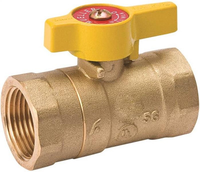 "Gas Ball Valve, 1"" FPT, 200 PSI"
