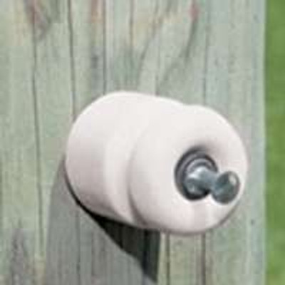 Electric Fence Wood Post Porcelain Insulator