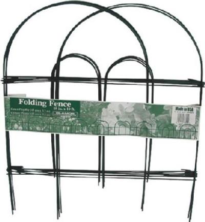 """Garden Fence, 18"""" X 10"""", Green Wire"""