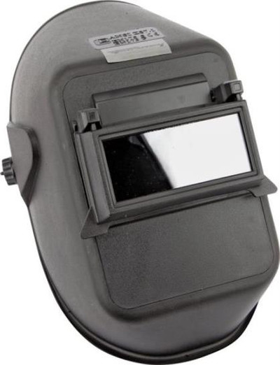 Welding Helmet, Lift Front, With Glass