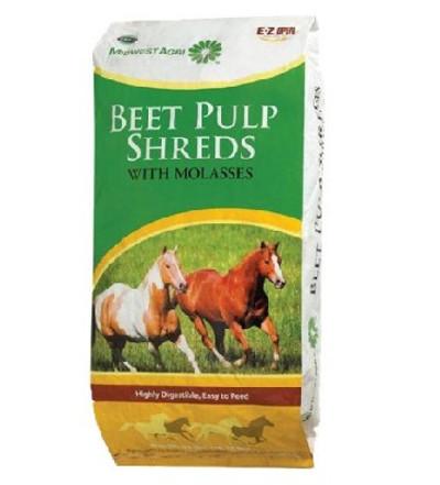 Shredded Beet Pulp W/Molasses 40 Lb