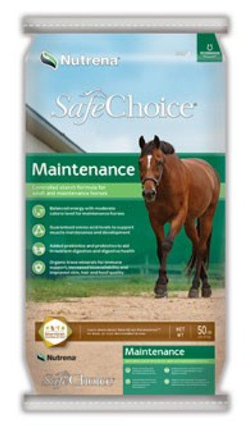 SafeChoice Maintenance Horse Feed, 50 Lb
