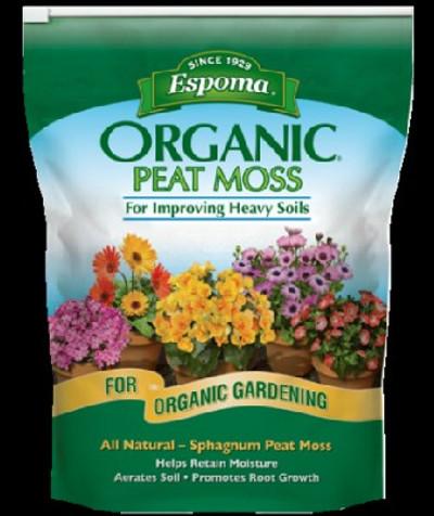 Espoma, Organic, Peat Moss, 8 Qt