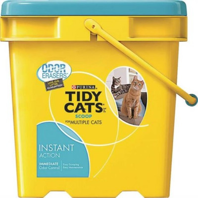 Tidy Cats Clumpable Cat Litter, 35 Lb Pail