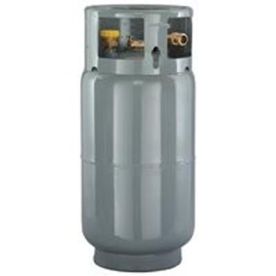 Propane Cylinder,  33.5 Lb, (Fork Lift), Steel