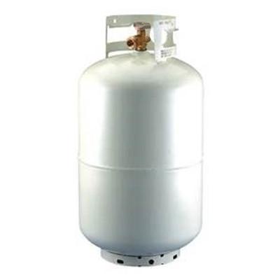 Propane Cylinder,  30 Lb, Steel