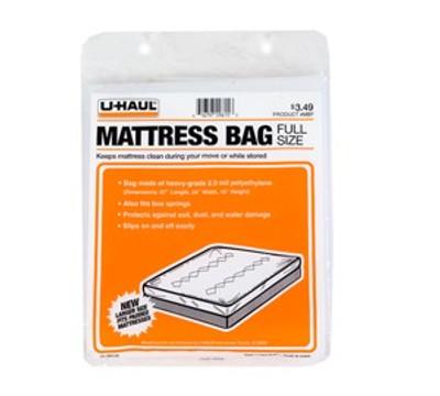 U-Haul, Mattress Bag Full Size