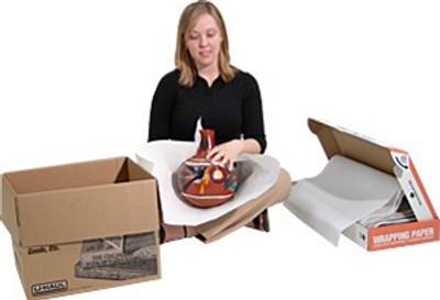 "U-Haul, Wrapping Paper, WP, 20"" x 27"" 10 Lb Box"