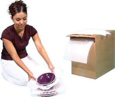 U-Haul, Cushion Foam Pads In Dispensing Box
