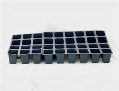 """Plant Plug Tray, 48 Cells, 11"""" x 22"""", Black"""
