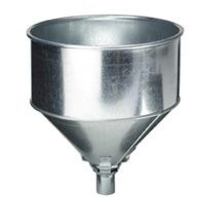 Funnel, 8 Quart, Galvanized