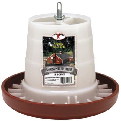 Poultry Feeder, 11 Lb Capacity