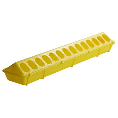 """Poultry Ground Feeder, 20"""" Yellow"""