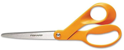 "Fiskars, 8"" Stainless Steel Bent Shears"
