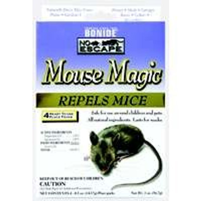 "Bonide, Mouse Magic, 4 Pack ""ALL NATURAL"""