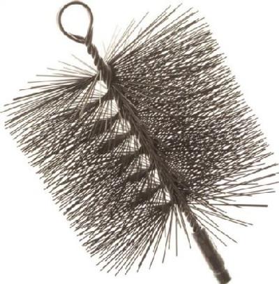 """Chimney Brush 6"""" Round Wire"""