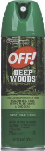 OFF! Unscented Deep Woods, 6 Oz