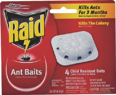 Raid Ant Bait Stations, 4 Pack