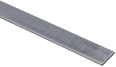"""Steel Flat Bar, 1"""" x 1/8"""" x 36"""", Zinc Plated"""