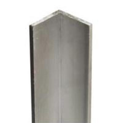 "Steel Angle Bar, 3/4"" x 36"" x 12 Ga, Zinc Plated"