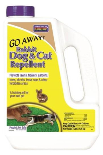 Bonide, Rabbit, Dog & Cat Repellant, 3Lb