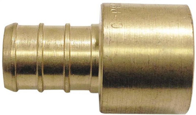"PEX, 3/4"" Barb x 3/4' CX  Female Adapter"