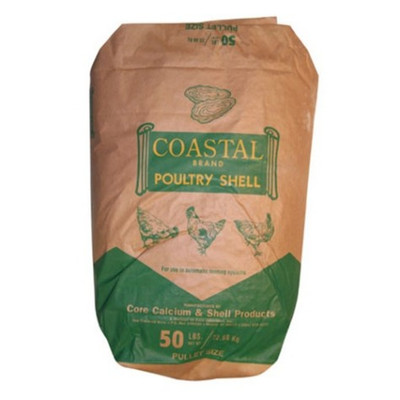 Poultry Shell, 50 Lb Bag